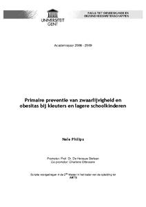 thesis ugent geneeskunde
