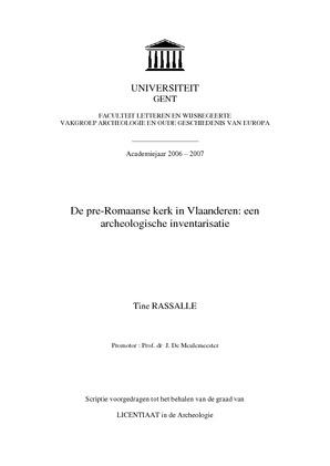 thesis databank ugent geschiedenis