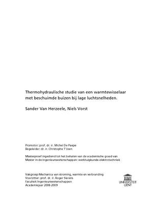 buizen voor thesis