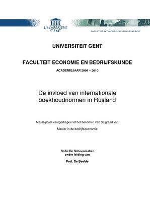 voorblad thesis ugent rechten