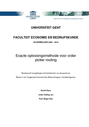 voorwoord thesis ugent