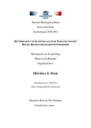thesis ugent rechtsgeleerdheid
