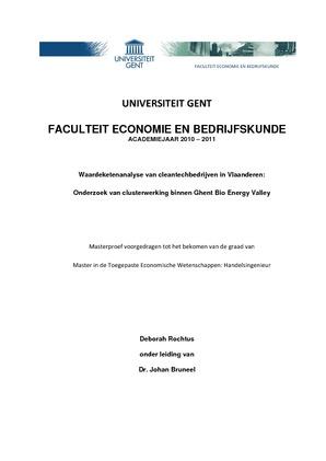 thesis onderwerpen economie