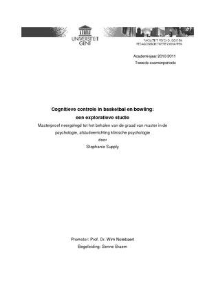 thesis ugent klinische psychologie