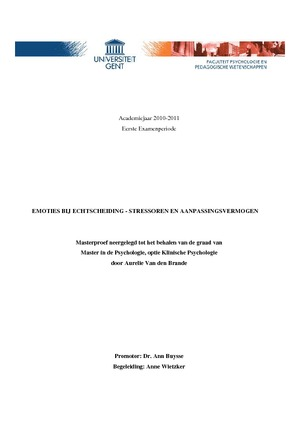 thesis ugent psychologie Psychologie rechten  romaanse filologie  scheikunde  sinologie   e-thesis can not be held responsible for the contents of the publications on this site.