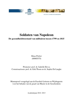 master thesis ugent geschiedenis