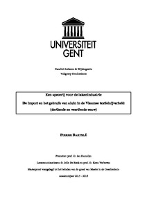 4289fe7e0f438f Een specerij voor de lakenindustrie De import en het gebruik van aluin in  de Vlaamse textielnijverheid (dertiende en veertiende