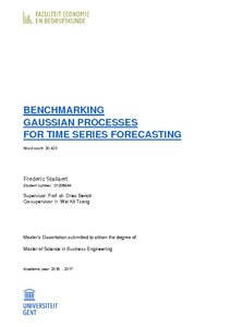 benchmarking gaussian processes for time series forecasting