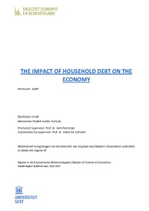 THE IMPACT OF HOUSEHOLD DEBT ON THE ECONOMY