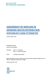 ASSESSMENT OF BIOFILMS IN DRINKING WATER