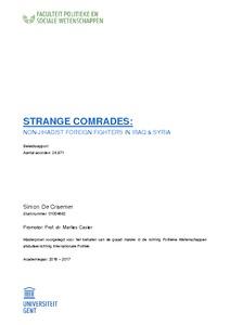 STRANGE COMRADES: