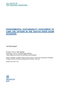 ENVIRONMENTAL SUSTAINABILITY ASSESSMENT OF LAND USE OPTIONS IN THE